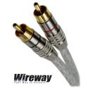 Kabel 2RCA - 2RCA Wireway WW220200 - 20m