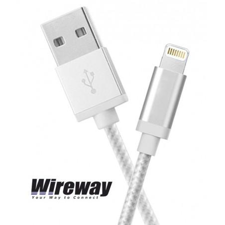 Kabel USB - iPhone Wireway WW330101 - 1m