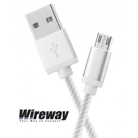 Kabel USB - micro USB Wireway WW331102 - 2m