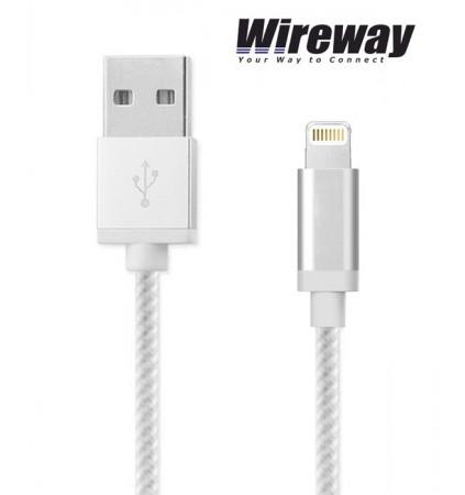 Kabel USB - iPhone Wireway WW330102 - 2m