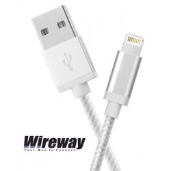 Kabel USB - iPhone Wireway WW330102 - 2m