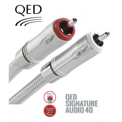 Kabel interkonekt 2RCA-2RCA CINCH QED SIGNATURE QE2445 - 1m