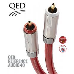 Kabel interkonekt 2RCA-2RCA CINCH QED REFERENCE QE2450 - 0.6m