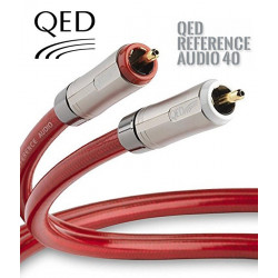 Kabel interkonekt 2RCA-2RCA CINCH QED REFERENCE QE2453 - 1m