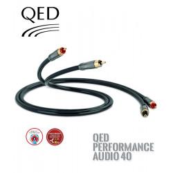 Kabel 2RCA-2RCA QED PERFORMANCE QE6110 - 0.6m