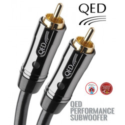 Kabel do subwoofera 1RCA QED PERFORMANCE QE6301 - 6m