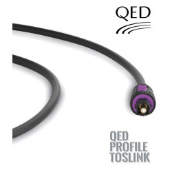 Kabel optyczny TOSLINK QED PROFILE QE5066 - 2m