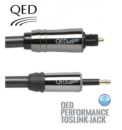 Kabel optyczny TOSLINK-JACK QED PERFORMANCE QE7100 - 1m
