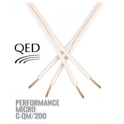Kabel głośnikowy QED PERFORMANCE MICRO - C-QM/200 [1 m.b]