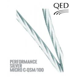 Kabel głośnikowy QED PERFORMANCE SILVER MICRO C-QSM/100 [1 m.b]