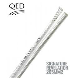 Kabel głośnikowy QED SIGNATURE C-QEDREV/50 - 2 x 5.0mm2