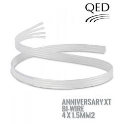Kabel głośnikowy QED SILVER ANNIVERSARY XT BI-WIRE 4x1.5mm2