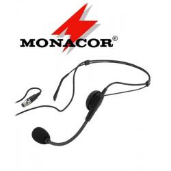 Mikrofon nagłowny MONACOR HSE-80