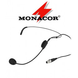 Mikrofon nagłowny MONACOR HSE-72
