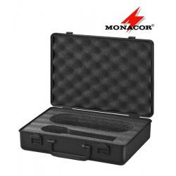 Walizka na mikrofon doręczny MONACOR MC-1/SW