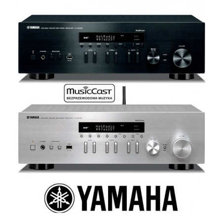 Yamaha R-N402D - Amplituner stereo z MusicCast i Spotify!