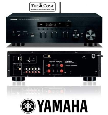 Amplituner stereo Yamaha R-N402D z MusicCast i Spotify!