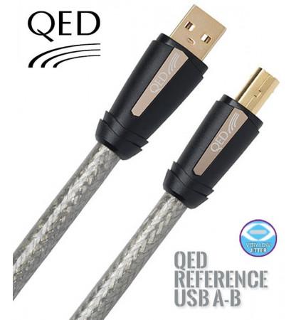 Kabel USB typ A - typ B QED QE3242 - 0.6m