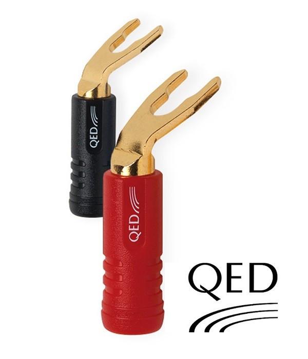 Wtyk widełkowy QED QE1830 - 1 szt.