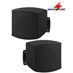 Miniaturowe głośniki MONACOR MKS-26/SW- para