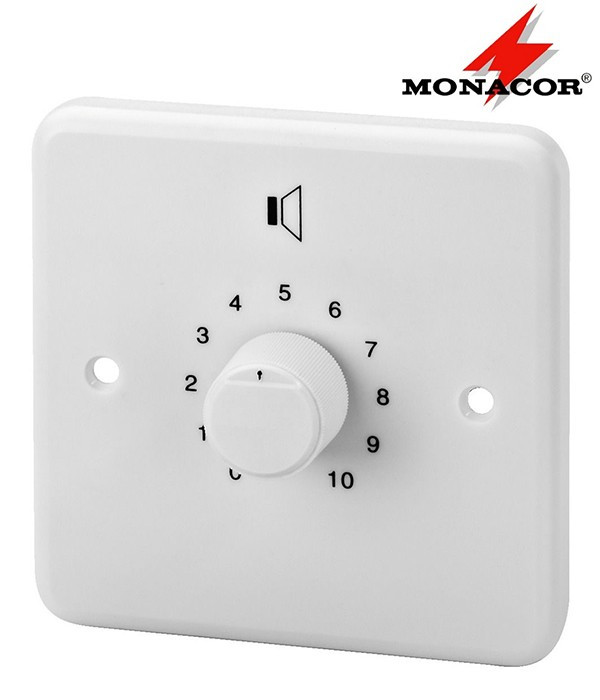 Regulator głośności PA 24 W MONACOR ATT-224/WS