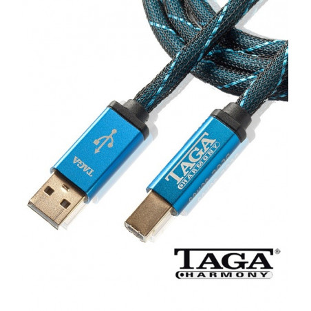 Kabel USB typ A - typ B 1.5m TAGA TUD-20 HTA