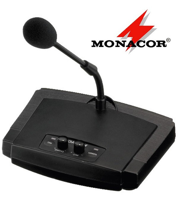 Mikrofon pulpitowy PA Monacor ECM-450