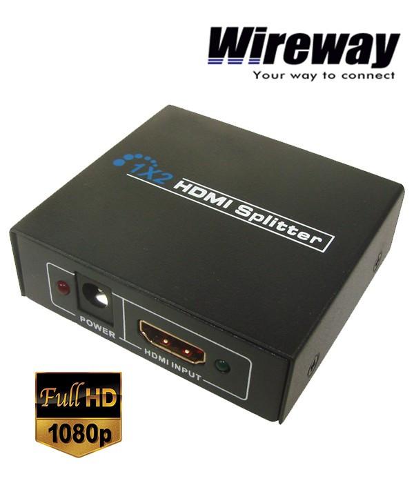 Rozgałęźnik Wireway 1/2 MRS Professional HDMI 1.4b HQ