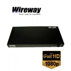 Rozgałęźnik Wireway 1/8 MRS Professional HDMI 1.4b