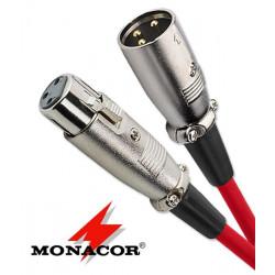 Kabel XLR Monacor MEC-100/RT - 1m