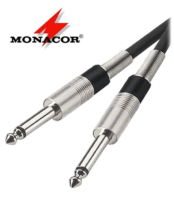 Kabel instrumentalny Jack 6.3 mm Monacor MCC-100/SW - 1m