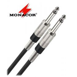 Kabel instrumentalny Jack 6.3 mm Monacor MCC-900/SW - 9m