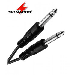 Kabel instrumentalny mono Jack 6.3 mm Monacor MCC-122/SW - 9m