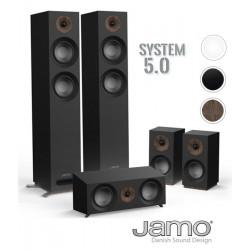 JAMO 807 HCS - Zestaw kolumn kina domowego 5.0