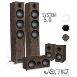 JAMO 809 HCS - Zestaw kolumn kina domowego 5.0