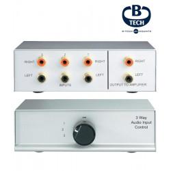Switch (przełącznik) selektor 2xRCA B-TECH BT31