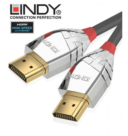 Kabel HDMI HIGHSPEED Lindy 37871 - 1m
