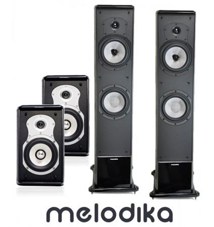 Zestaw kolumn kina domowego - Melodika BL40 MK2 + BL10