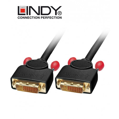 Lindy 36612 kabel DVI-D Dual Link - 2m