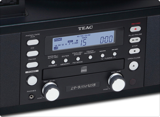 TEAC LP-R550USB - cecha 2